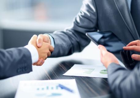 Partnership Handshake 457x320