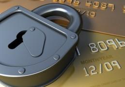 card security lock feature