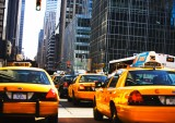 Taxis and Traffic in Manhattan
