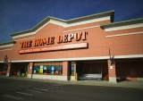 Home Depot Store Entrance
