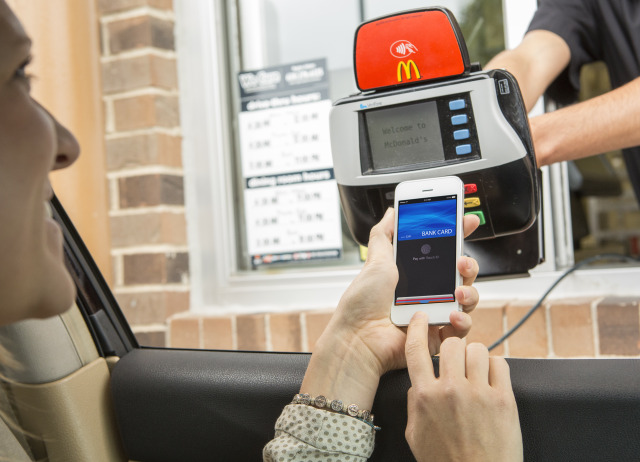 McDonalds Apple Pay