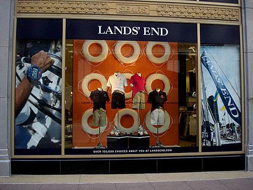Lands end rethinks its b2b site for Lands end logo shirts