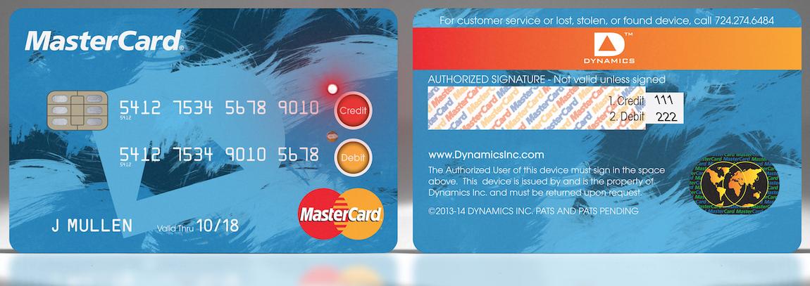 MasterCard CreditDebit