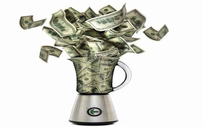 money blender