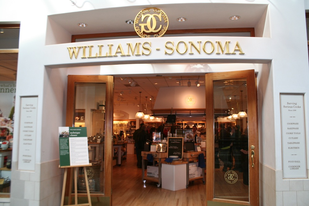 Williams Sonoma Opens And Closes Doors Pymntscom