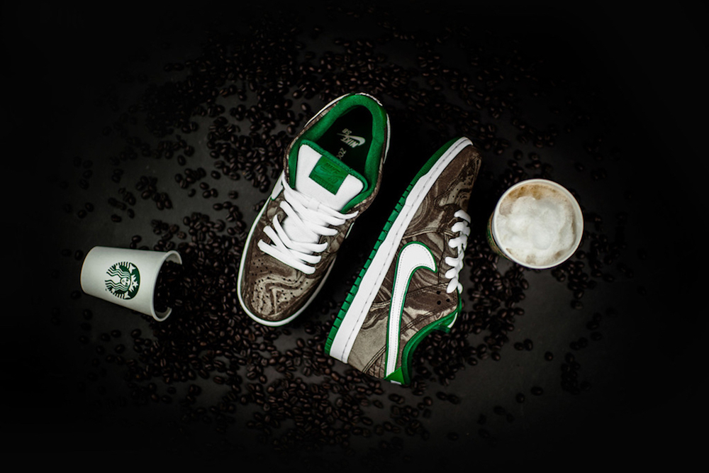 detailed look a989f 6ae8e Nike's Starbucks Sneaker Draws Less Than Rave Reviews