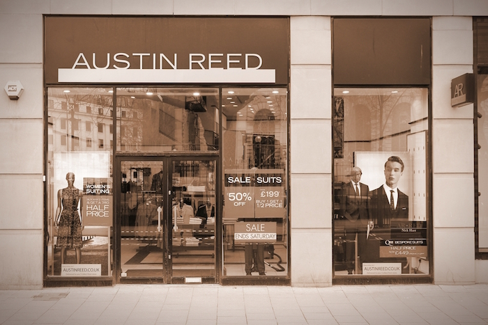 Austin Reed To Close 120 Stores Pymnts Com