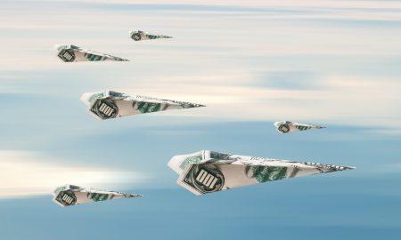Is Cash Flying Beyond U.S. Borders?