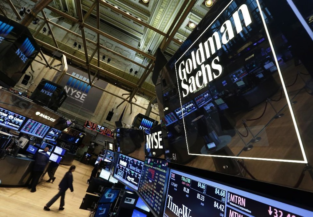 cryptocurrency trader goldman sachs