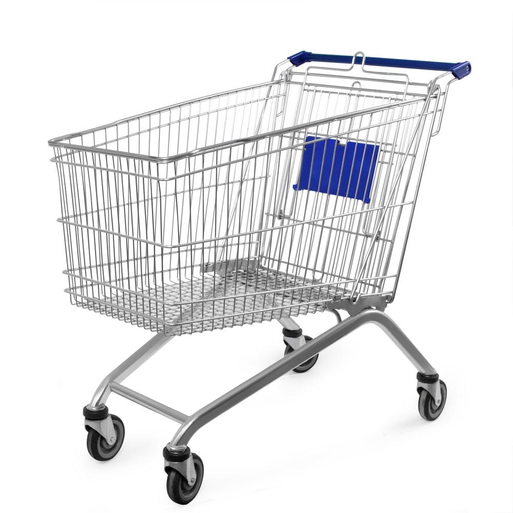 The Metal Shopping Cart's High Tech Makeover