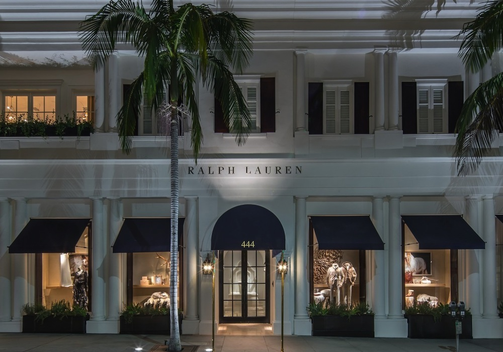 bbd7c3fd94 Ralph Lauren Embraces High Tech In L.A.