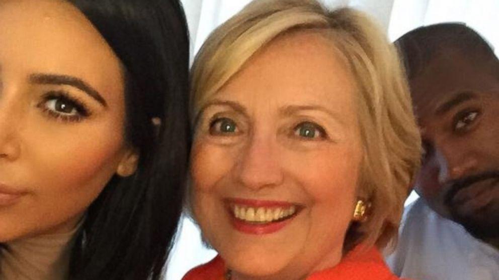 Kim Karadashian Supports Hillary Clinton