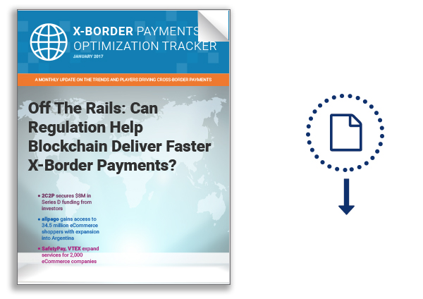 2017 01 Tracker - X-Border Payments Optimization - DLimage