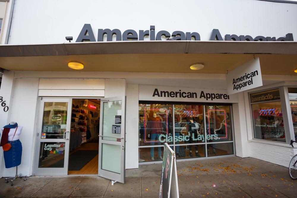 d00a9a058f American Apparel Rides Again In LA