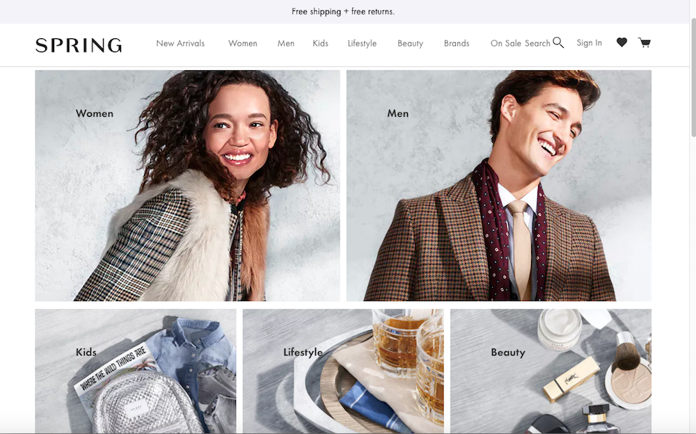 eBay Expands With Spring Partnership