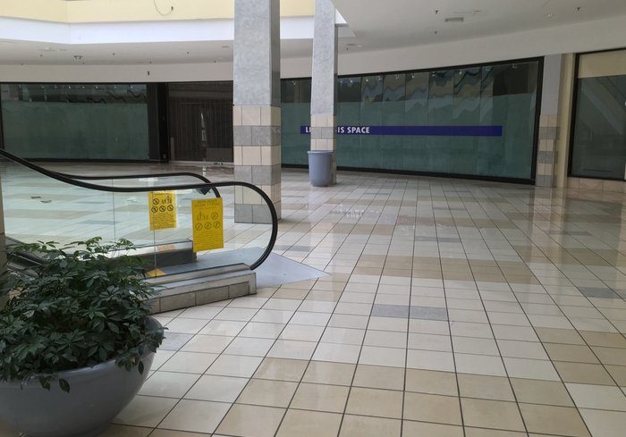 Vacant Shopping Mall