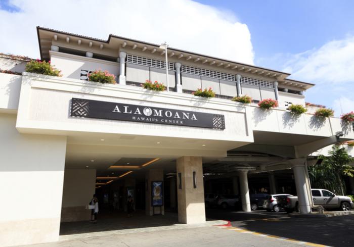 Honolulu's Ala Moana Center