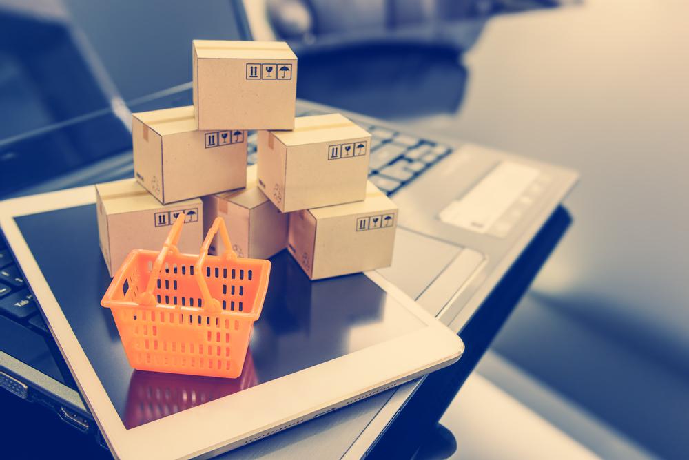 merchant boxes shopping basket