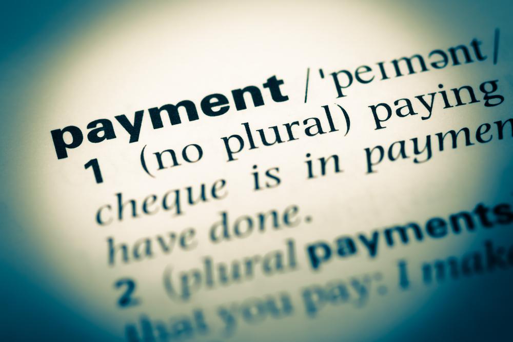 payment vocabulary