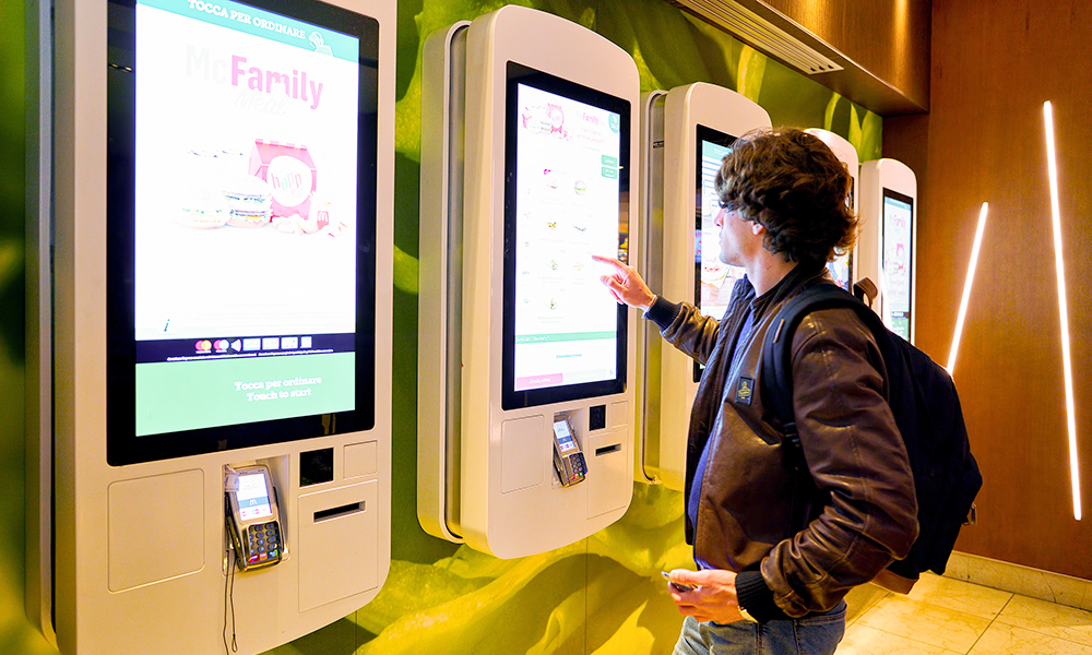 Qsrs Turn To Self Serve Food Amp Bev Kiosks Pymnts Com