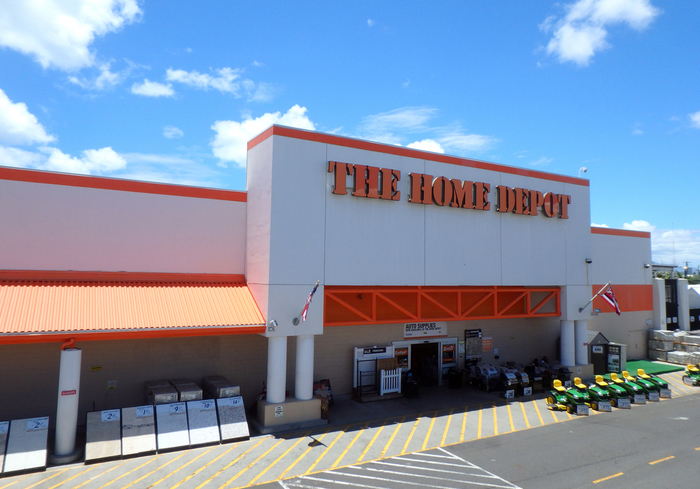 home depot sees strong delivery growth in q1. Black Bedroom Furniture Sets. Home Design Ideas