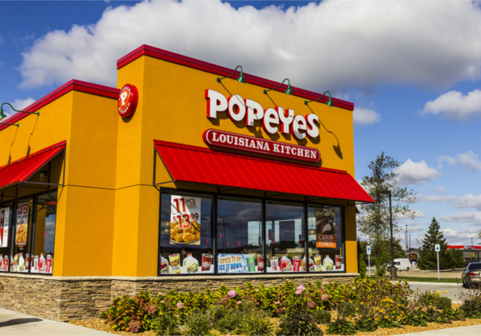 Find Popeyes Near Me With Uber Eats As Consumers Crave Delivery