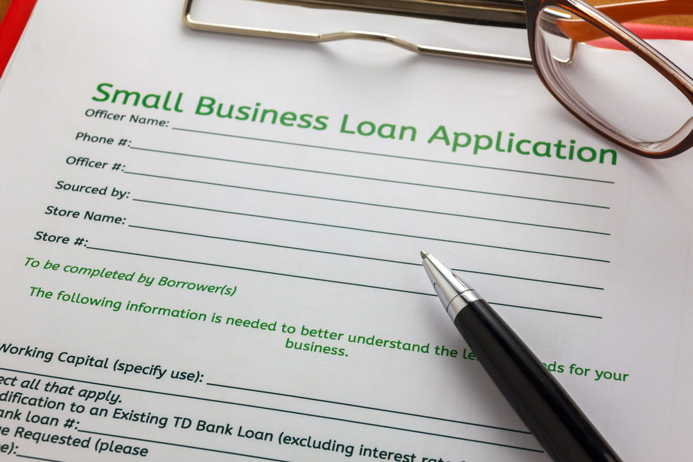 small business application form