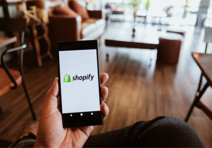 Shopify Shares Fall Over Growth Slowdown