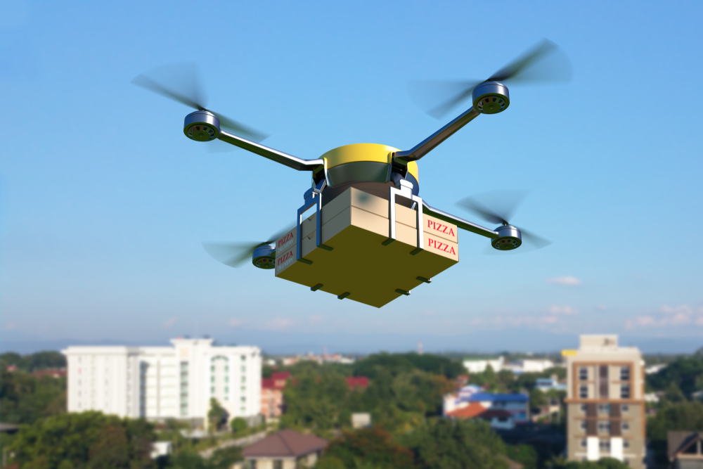 Food In Flight: Delivering Mobile Orders By Drone