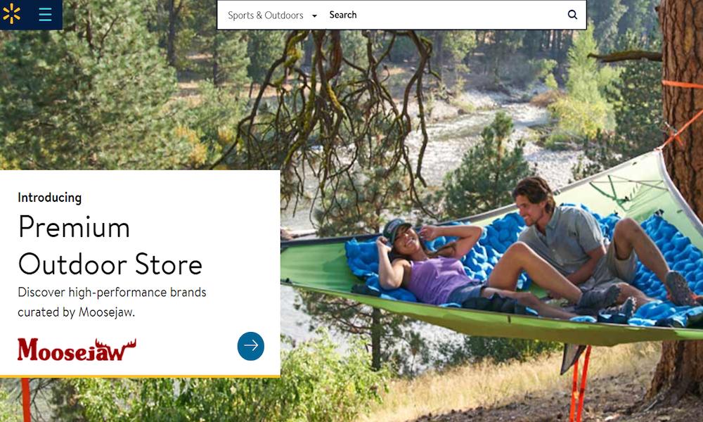 Walmart com Launches Moosejaw-Curated Outdoor Shop