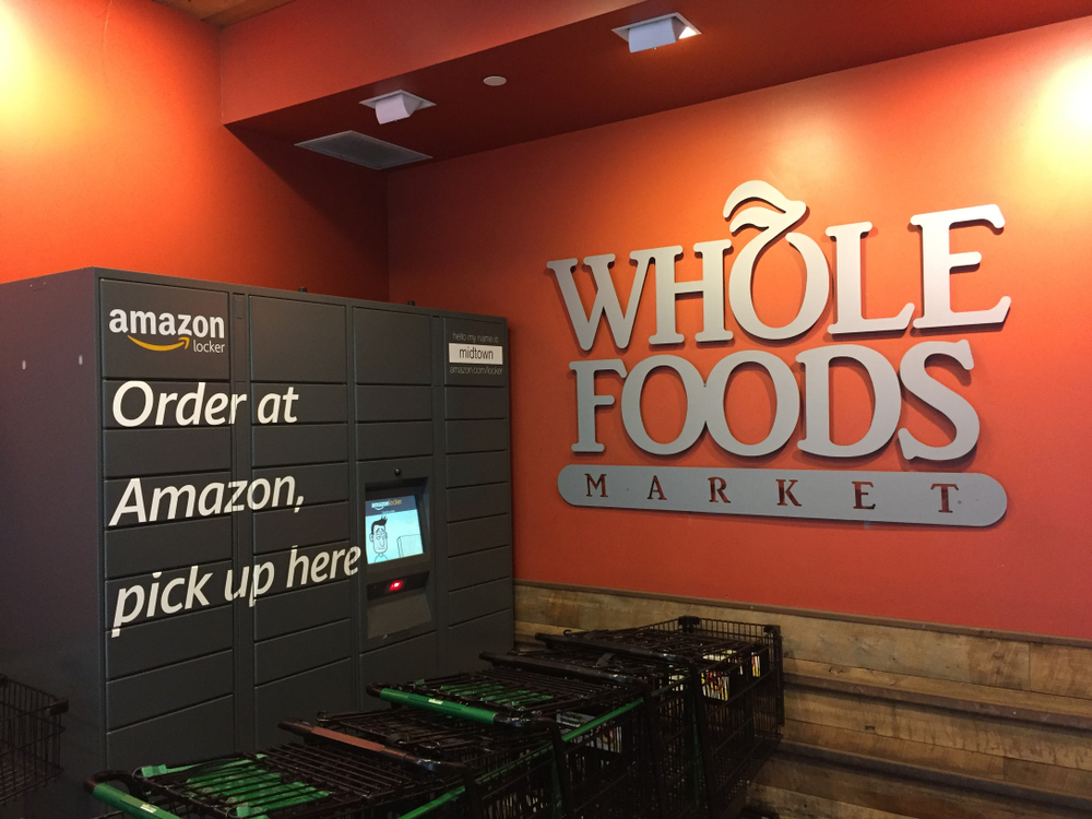 Amazon Trials Delivery Services At Whole Foods