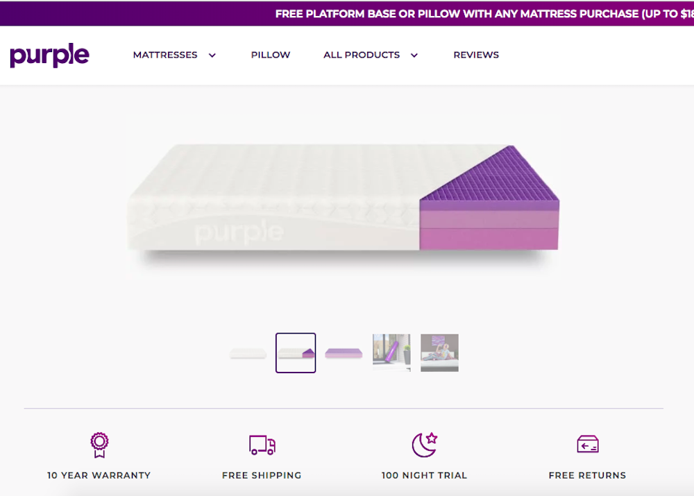 7d1511503 Purple And Why Retail Is Going To The Mattresses
