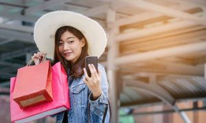 Consumers Pay With Biometrics on Singles' Day