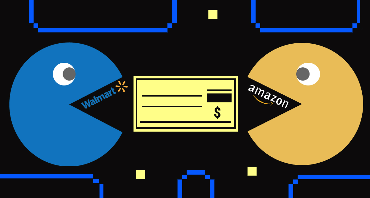 The Walmart/Amazon Whole Paycheck Matchup