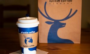 Coffee Startup Luckin Challenges Starbucks With $200M Investment