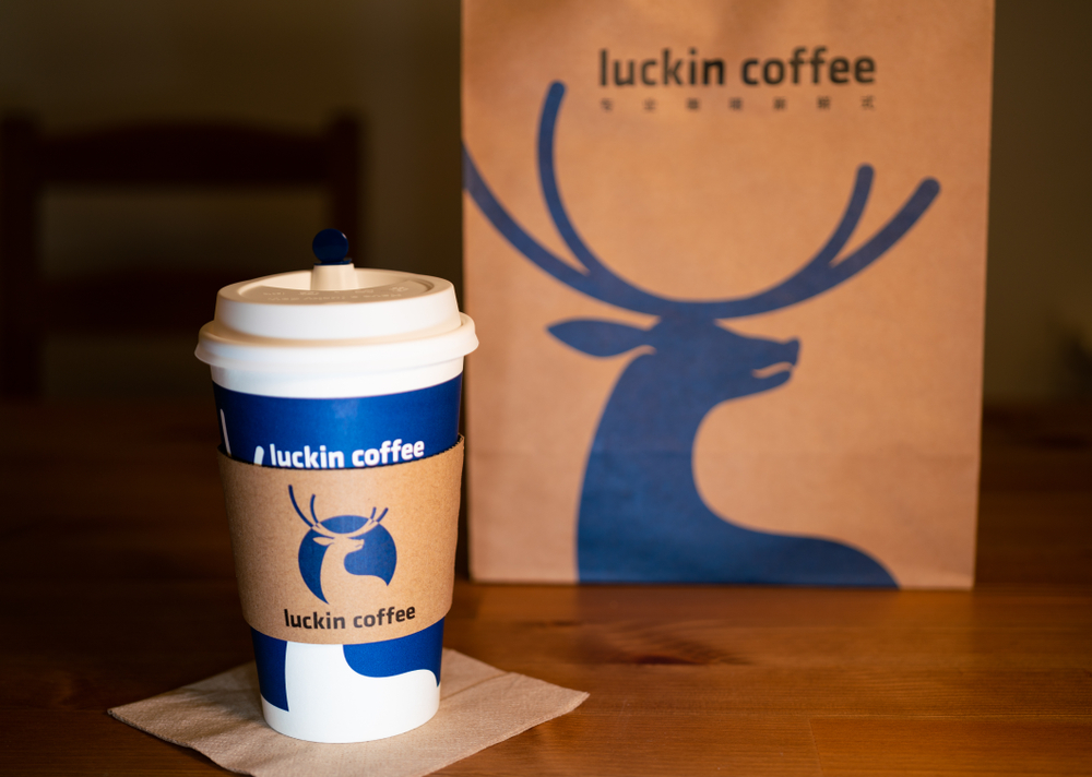 ec3b142eb9469 Coffee Startup Luckin Challenges Starbucks With $200M Investment