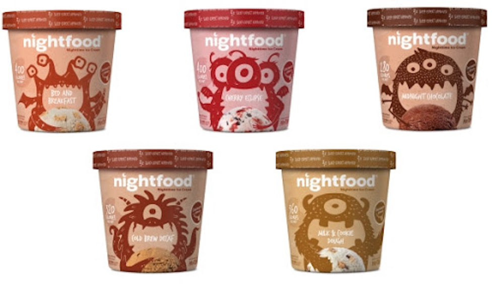NightFood: Making Ice Cream a Healthy Snack