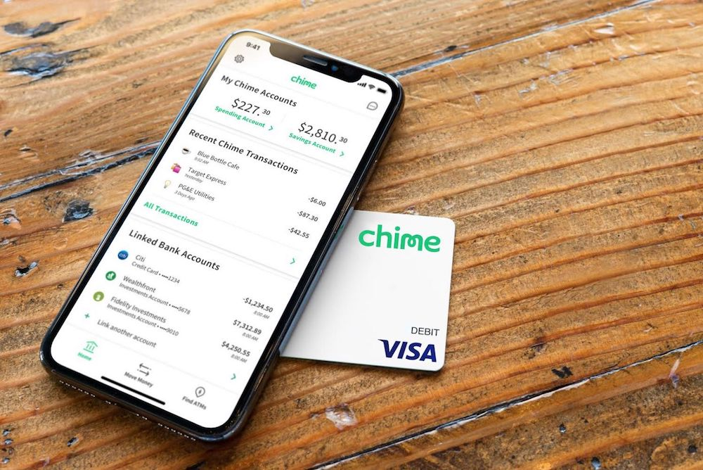 Chime's Expanding Banking Services Menu