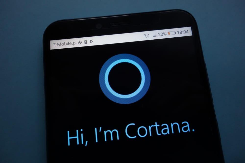 Cortana Not Competing With Alexa, Google