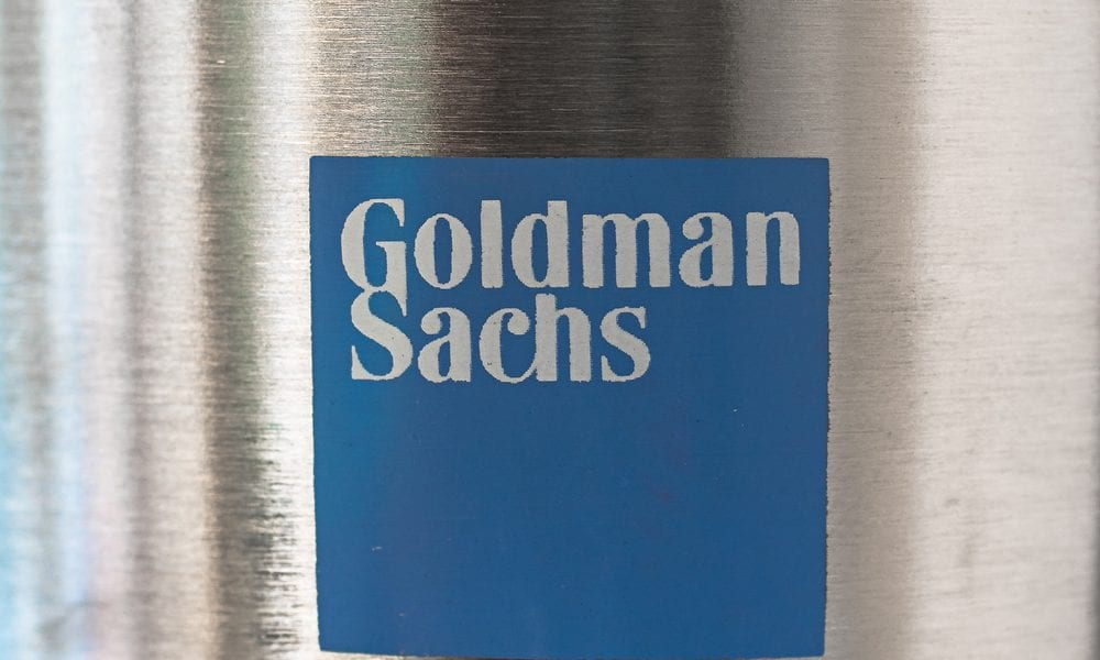 Goldman Eyes FinTech As Investment — And As Strategy