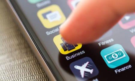 Mobile app spending