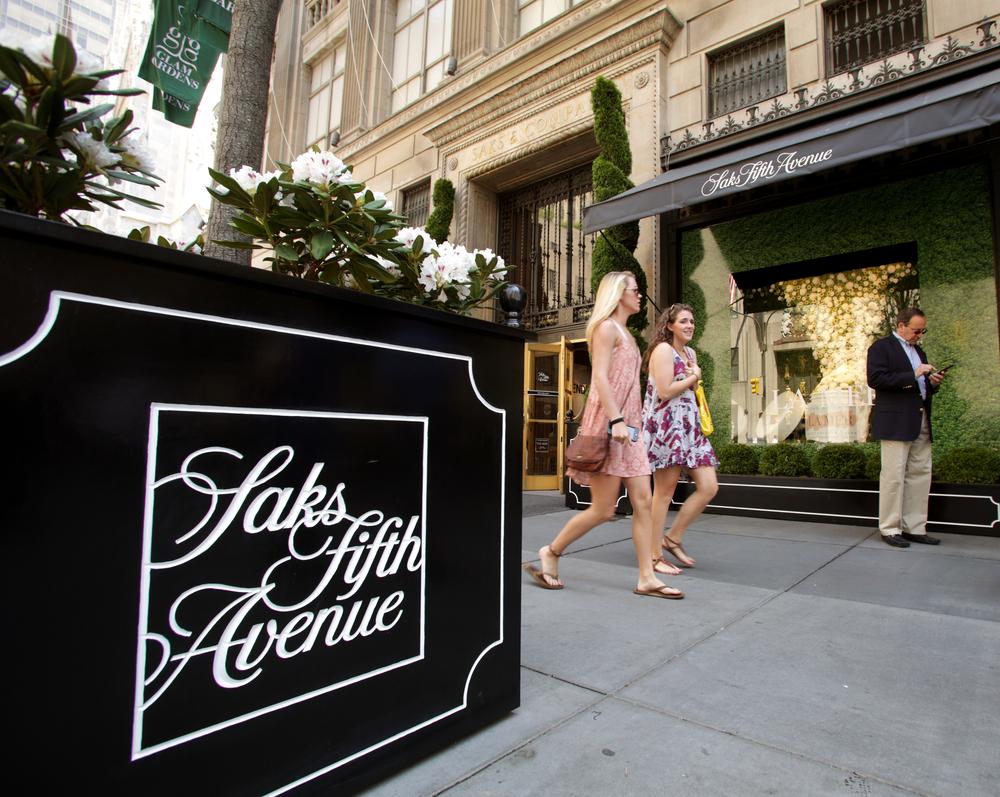 Manhattan Retail Battle Heats Up As Saks Closes Store Downtown