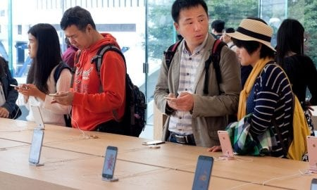 China iPhone Sales