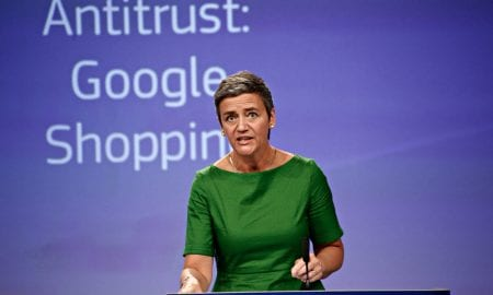 EU Antitrust Chief Against Dismantling Tech Cos