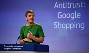 Margrethe Vestager Google fine