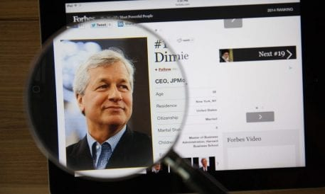 JPMorgan CEO Dimon Says Europe Needs Pan-European Banks