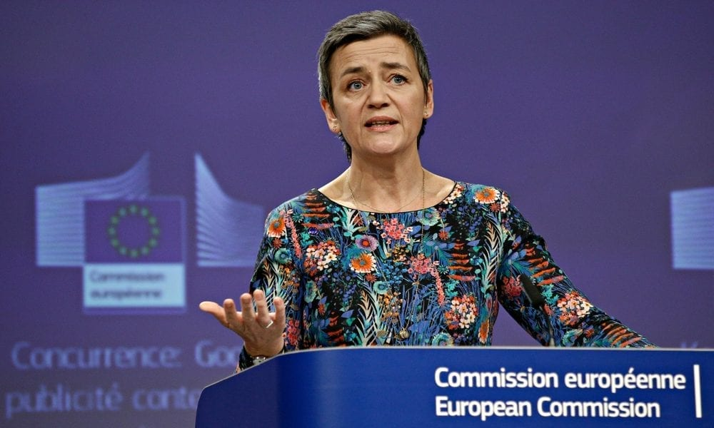 EU Antitrust Chief Sees No Competition Issues With Google Shopping
