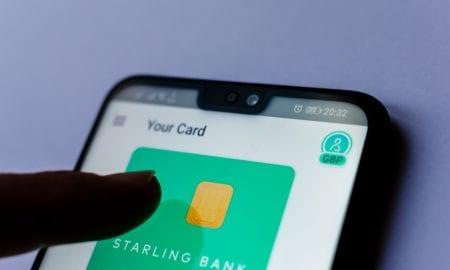 Starling Bank app