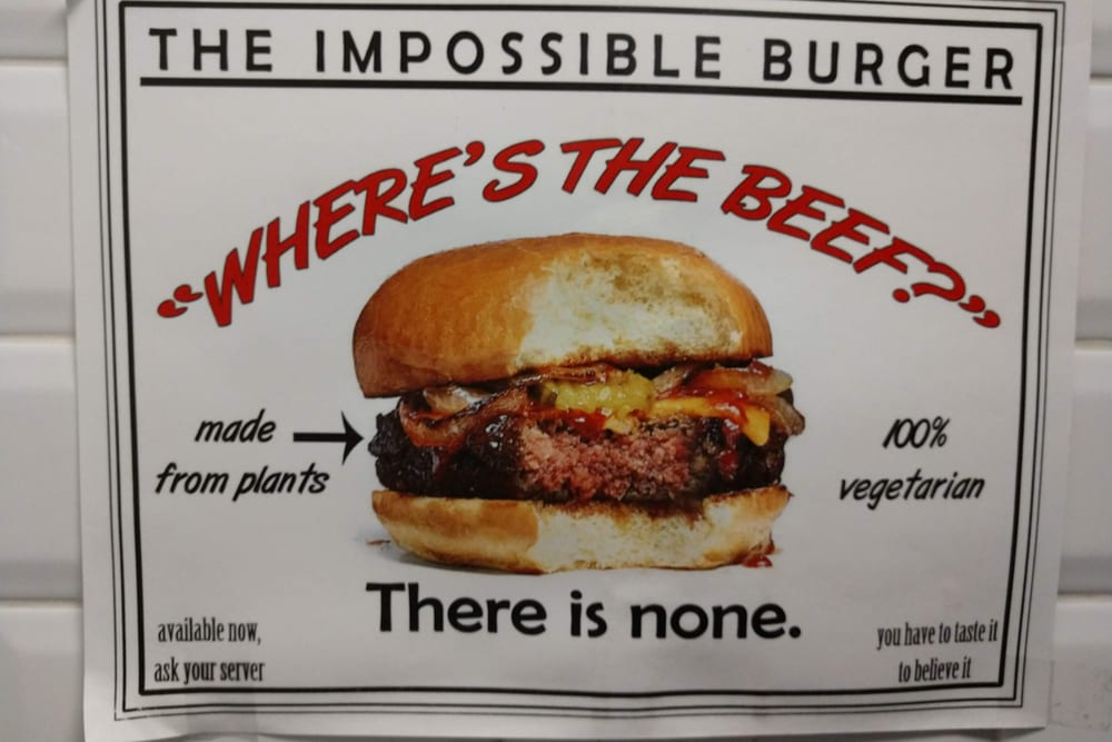 To Dream The Impossible Meatless Dream?