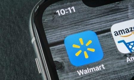 Walmart Amazon apps